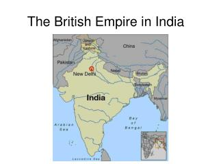 The British Empire in India