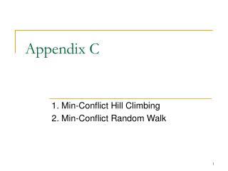 Appendix C