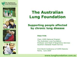 The Australian Lung Foundation Supporting people affected by chronic lung disease
