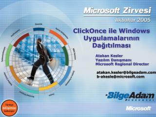 ClickOnce ile Windows Uygulamalarının Dağıtılması