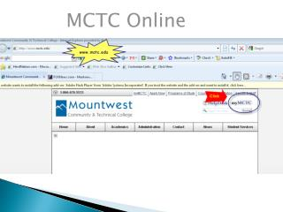 MCTC Online