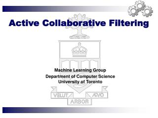 Active Collaborative Filtering