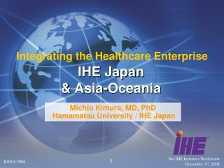 IHE Japan & Asia-Oceania