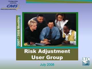 Risk Adjustment User Group