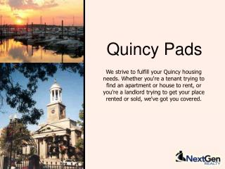 Quincy Pads