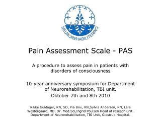 Pain Assessment Scale - PAS