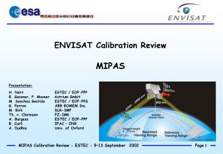 ENVISAT Calibration Review MIPAS