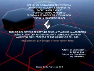 """REPÚBLICA BOLIVARIANA DE VENEZUELA UNIVERSIDAD NACIONAL EXPERIMENTAL """"RAFAEL MARÍA BARALT"""""""