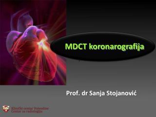Prof. dr Sanja Stojanovi ć
