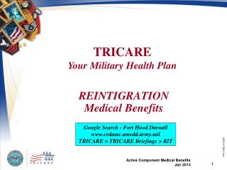 REINTIGRATION Medical Benefits