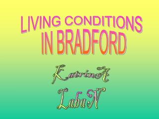 LIVING CONDITIONS  IN BRADFORD
