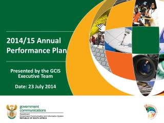 2014/15 Annual Performance Plan