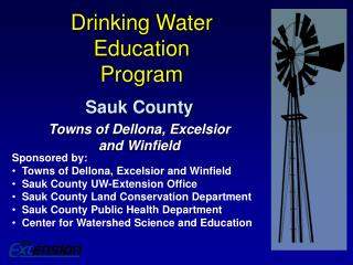 Drinking Water  Education Program
