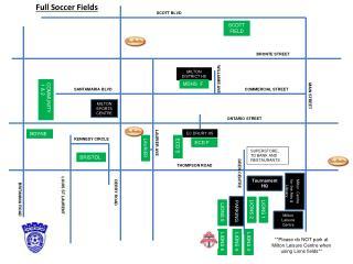 Full Soccer Fields