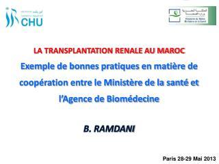 B. RAMDANI