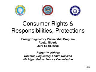 Consumer Rights & Responsibilities, Protections