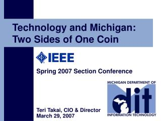 Technology and Michigan: Two Sides of One Coin