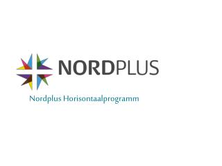 Nordplus  Horisontaalprogramm
