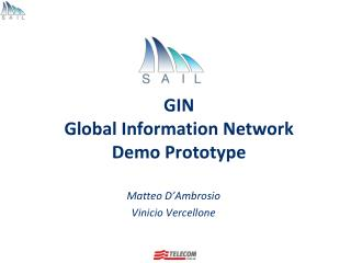 GIN  Global Information Network Demo  Prototype