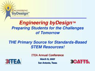 ITEA Annual Conference March 15, 2007 San Antonio, Texas
