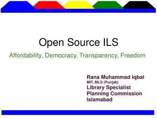 Open Source ILS