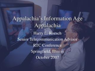 Appalachia's Information Age Appalachia