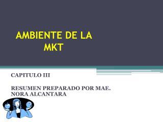 AMBIENTE DE LA MKT