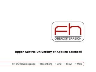 Upper Austria University of Applied Sciences