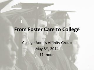 From Foster Care to College