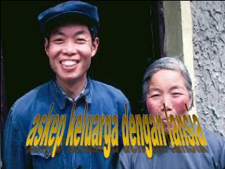 askep keluarga dengan lansia