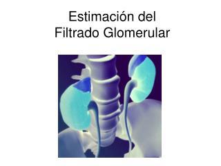Estimación del  Filtrado Glomerular