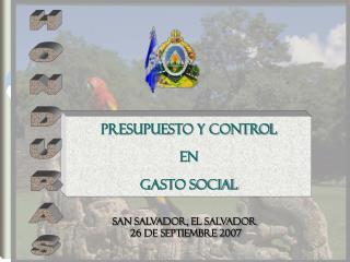 PRESUPUESTO Y CONTROL  EN  GASTO SOCIAL