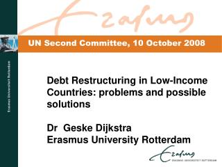 Why such a long debt crisis in low-income countries?