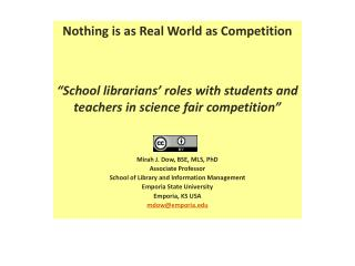 Nothing is as Real World as Competition