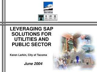 LEVERAGING SAP SOLUTIONS FOR UTILITIES AND PUBLIC SECTOR