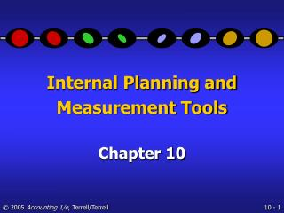 Internal Planning and Measurement Tools
