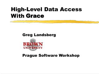 High-Level Data Access With Ease