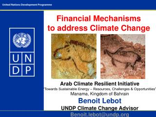 Financial Mechanisms to address Climate Change
