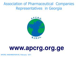 Association of Pharmaceutical  Companies    Representatives  in Georgia