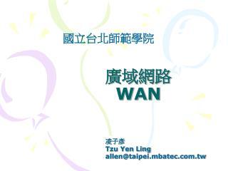 廣域網路 WAN