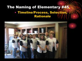 The Naming of Elementary #45