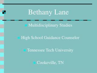 Bethany Lane