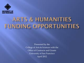 Arts & Humanities funding opportunities