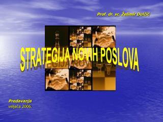 STRATEGIJA NOVIH POSLOVA