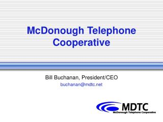McDonough Telephone Cooperative