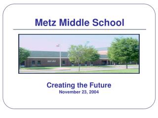 Creating the Future November 23, 2004