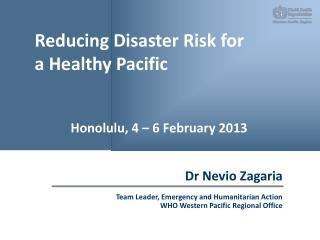 Dr Nevio Zagaria
