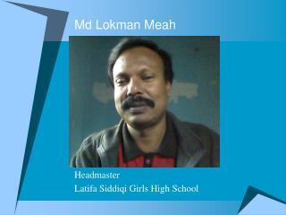 Md Lokman Meah