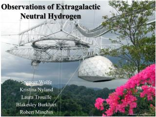 Observations of Extragalactic  Neutral Hydrogen