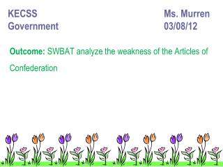 KECSS						Ms.  Murren Government					 03/08/12